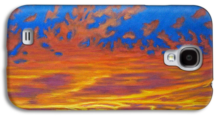 Landscape Galaxy S4 Case featuring the painting Looking To The Southwest by Brian Commerford