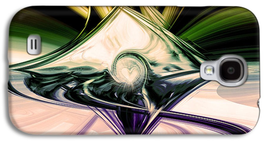 Digital Art Galaxy S4 Case featuring the digital art Love And Light by Linda Sannuti