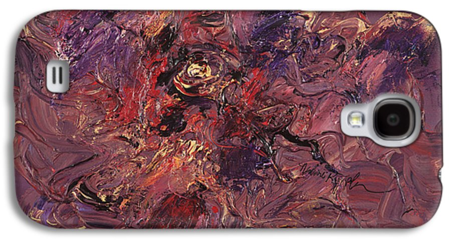 Love Galaxy S4 Case featuring the painting Love by Nadine Rippelmeyer