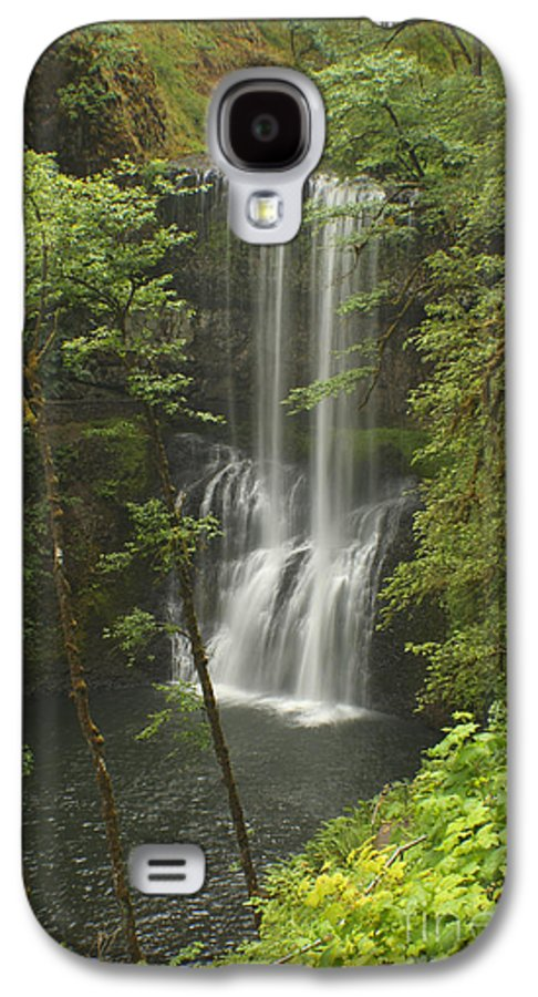 Silver Falls Galaxy S4 Case featuring the photograph Lower South Falls by Idaho Scenic Images Linda Lantzy