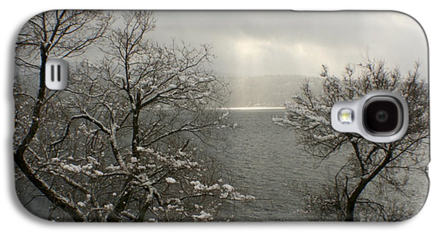 Lake Galaxy S4 Case featuring the photograph Luminescence by Idaho Scenic Images Linda Lantzy