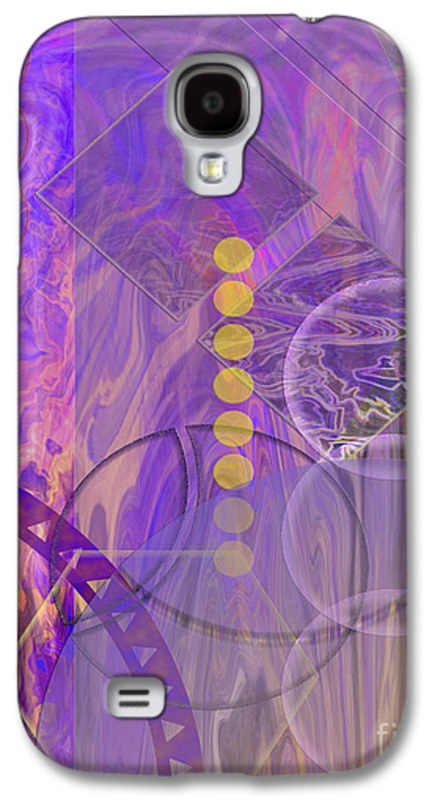 Lunar Impressions 3 Galaxy S4 Case featuring the digital art Lunar Impressions 3 by John Beck