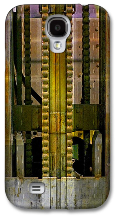 Texture Galaxy S4 Case featuring the photograph Machina by Skip Hunt