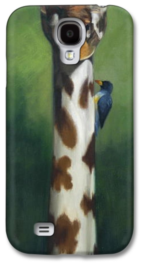 Galaxy S4 Case featuring the painting Maggie by Greg Neal