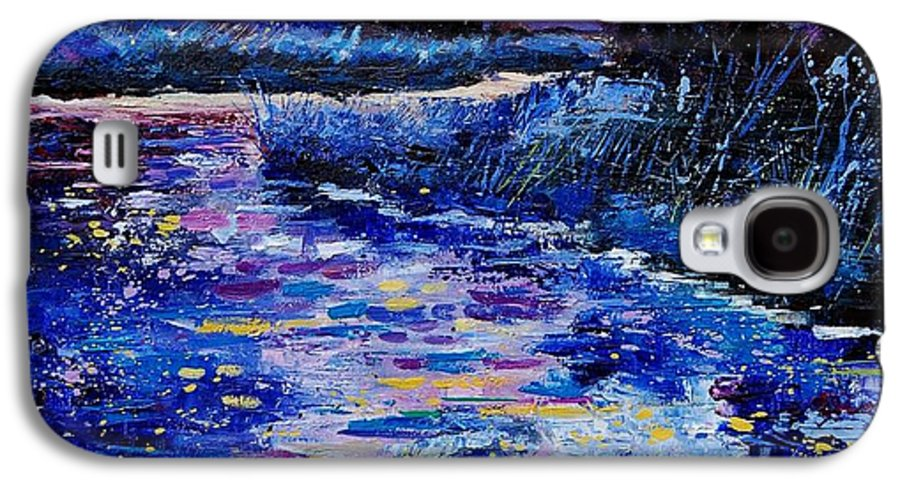 River Galaxy S4 Case featuring the painting Magic Pond by Pol Ledent