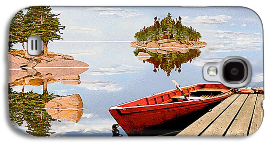 Maine Galaxy S4 Case featuring the photograph Maine-tage by Peter J Sucy
