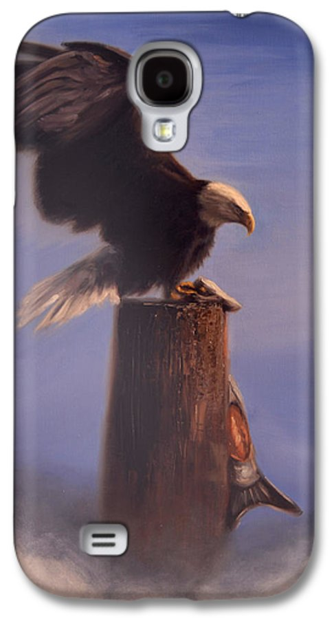 Oil Galaxy S4 Case featuring the painting Majestic by Greg Neal