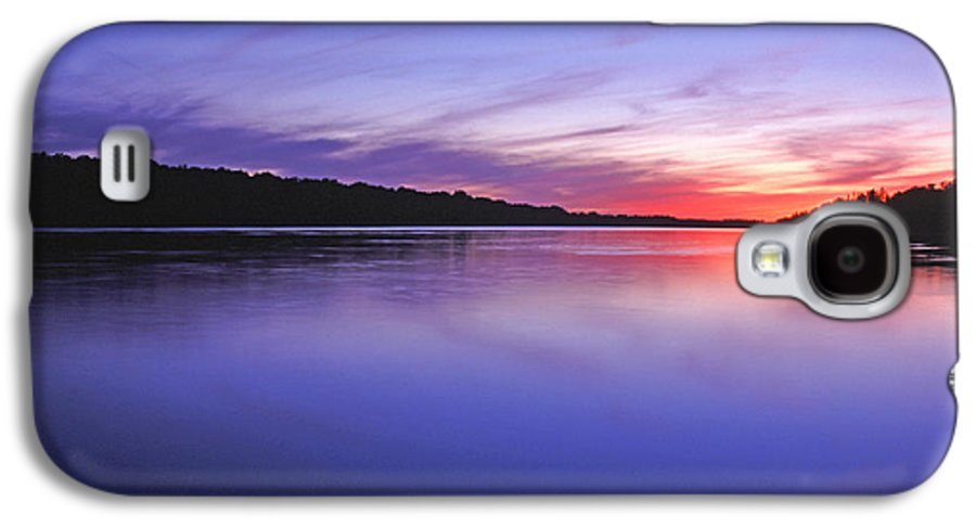 Landscape Galaxy S4 Case featuring the photograph Manidooziibi by Bill Morgenstern