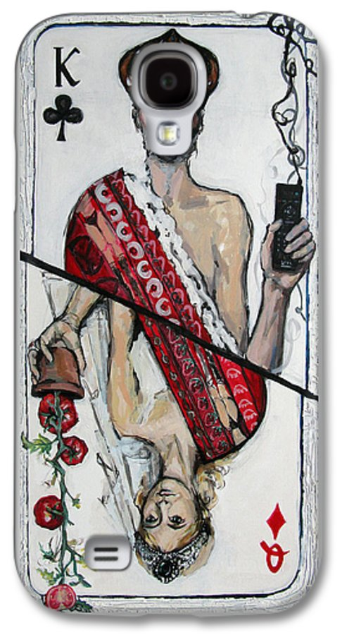 Marriage Galaxy S4 Case featuring the painting Marriage by Mima Stajkovic
