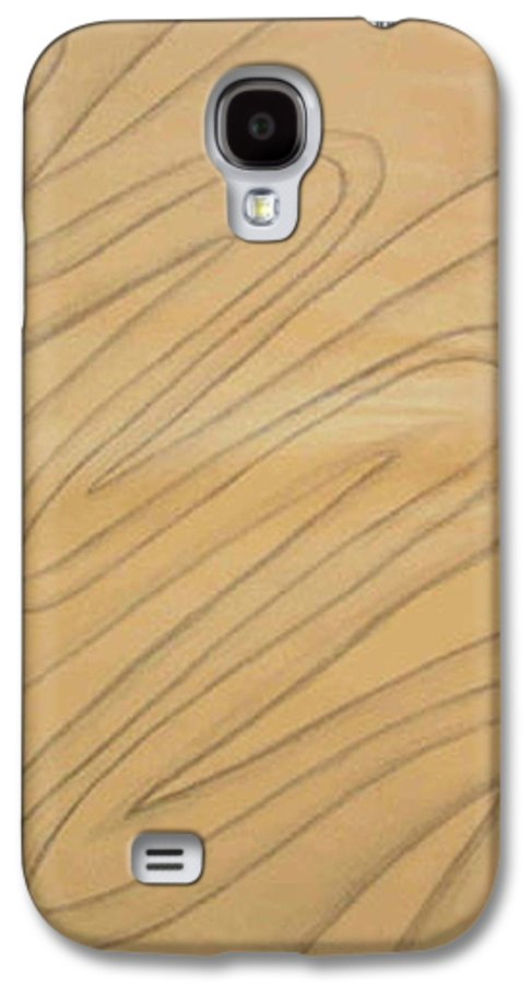 Abstract Galaxy S4 Case featuring the drawing Maze Of Life Drawing by Natalee Parochka