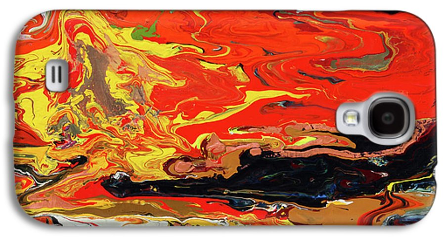 Fusionart Galaxy S4 Case featuring the painting Melt by Ralph White