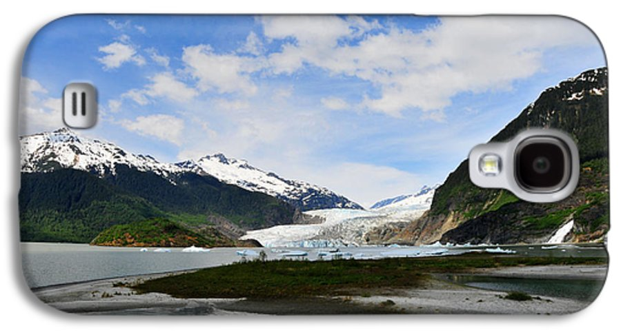 Mendenhall Galaxy S4 Case featuring the photograph Mendenhall Glacier by Keith Gondron