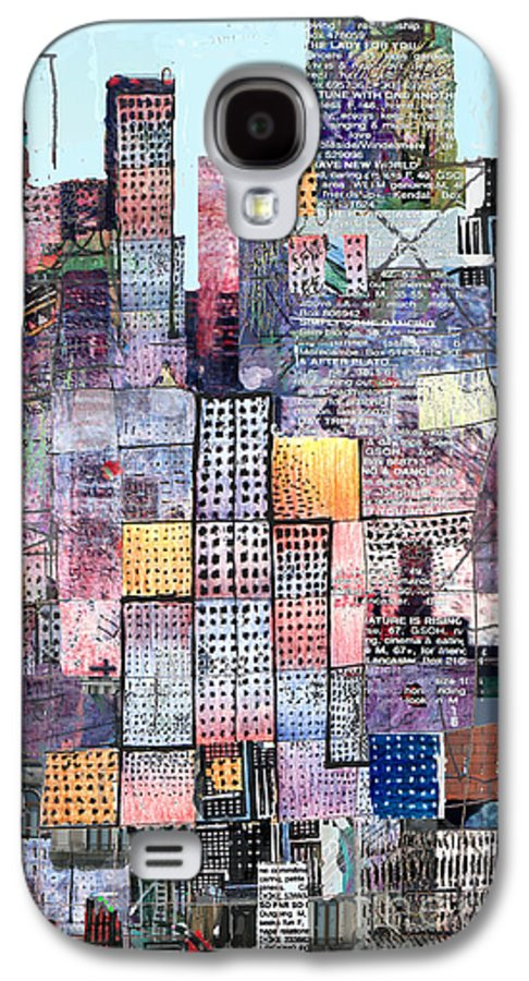 Metro Galaxy S4 Case featuring the digital art Metropolis 3 by Andy Mercer