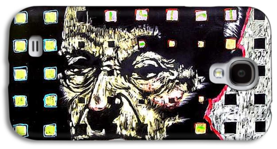 Galaxy S4 Case featuring the mixed media Mind Of State by Chester Elmore