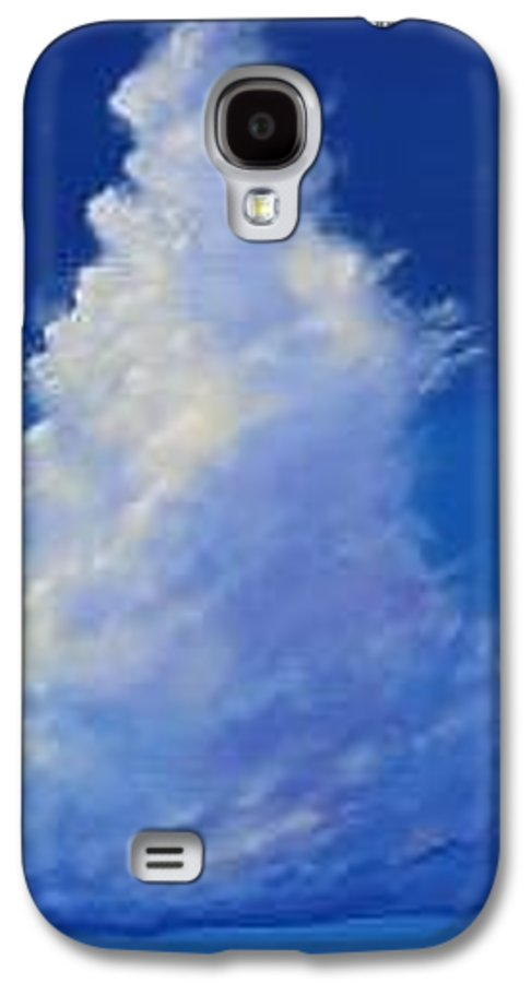 Clouds Galaxy S4 Case featuring the painting Minor Earth Major Sky by Hunter Jay