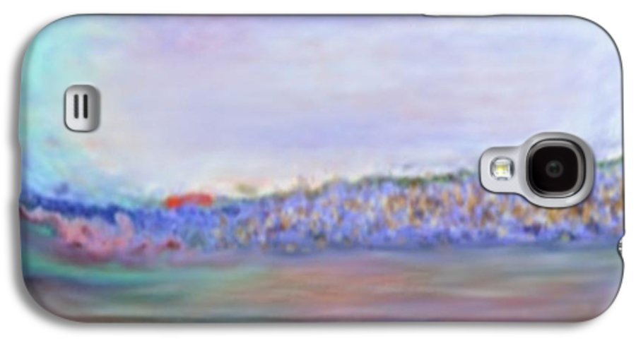 Sunset Galaxy S4 Case featuring the digital art Miracle Sunset by Dr Loifer Vladimir