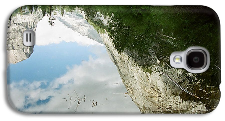 Mirror Lake Galaxy S4 Case featuring the photograph Mirrored by Kathy McClure