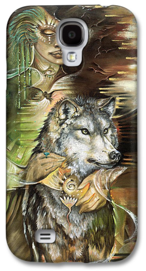 Animals Galaxy S4 Case featuring the painting Missing You Susan Boulet by Blaze Warrender