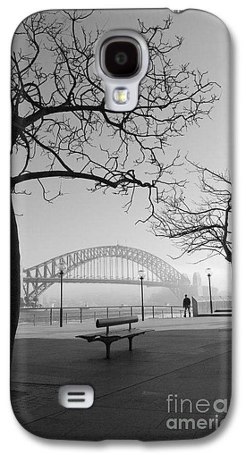 Sydney Harbour Bridge Mist Australia Galaxy S4 Case featuring the photograph Misty Sydney Morning by Sheila Smart Fine Art Photography