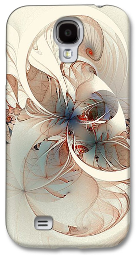 Galaxy S4 Case featuring the digital art Mollusca by Amanda Moore