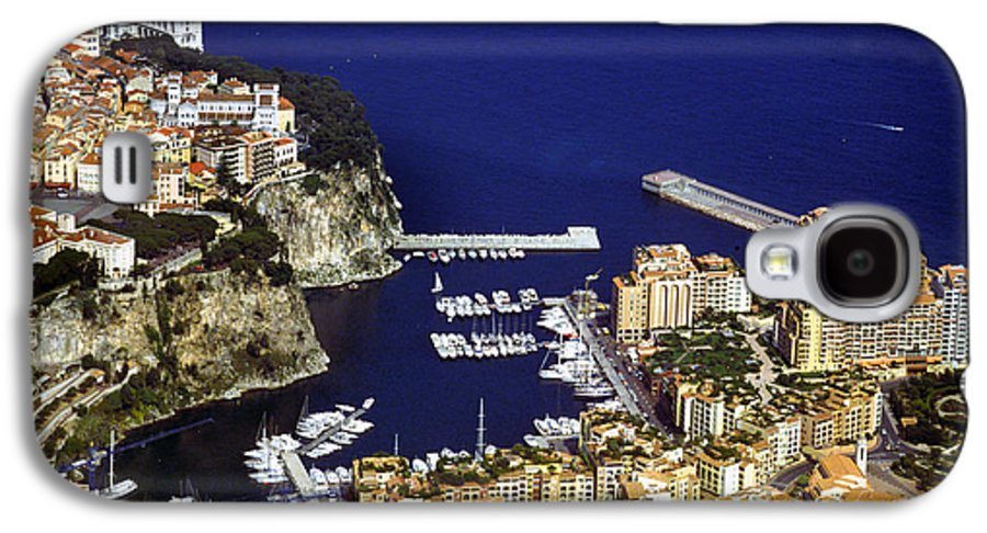Rich Galaxy S4 Case featuring the photograph Monaco On The Mediterranean by Carl Purcell