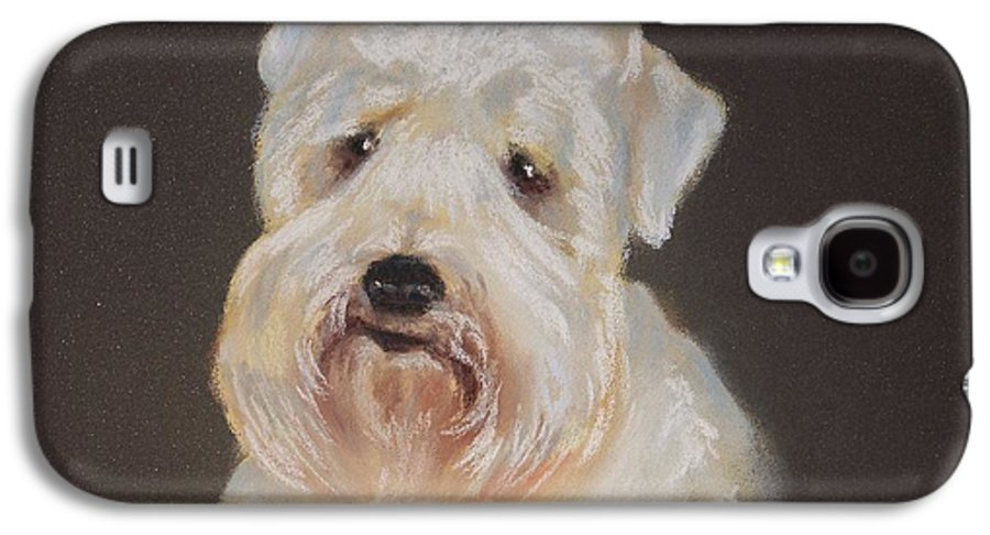 Pet Galaxy S4 Case featuring the painting Monique's Bailey by Carol Mueller