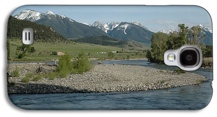 Stream Galaxy S4 Case featuring the photograph Montana Stream by Kathy Schumann