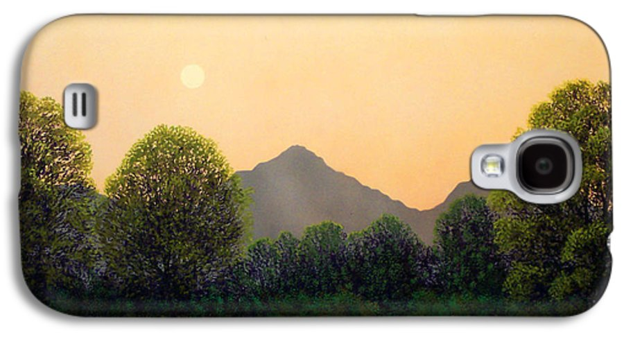 Landscape Galaxy S4 Case featuring the painting Morning Light by Frank Wilson