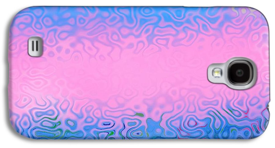Morning.sea.fog.sun.water Illusions.morning Cold.colors Blue.rose. Galaxy S4 Case featuring the digital art Morning Sea Fog.cold Water by Dr Loifer Vladimir