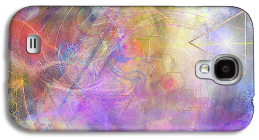 Morning Star Galaxy S4 Case featuring the digital art Morning Star by John Beck