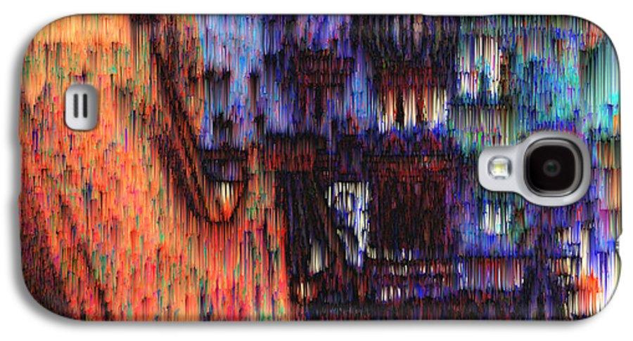 Fog Galaxy S4 Case featuring the digital art Moscow In The Rain by Seth Weaver