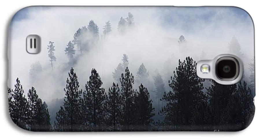 Fog Galaxy S4 Case featuring the photograph Mountain Mist by Idaho Scenic Images Linda Lantzy