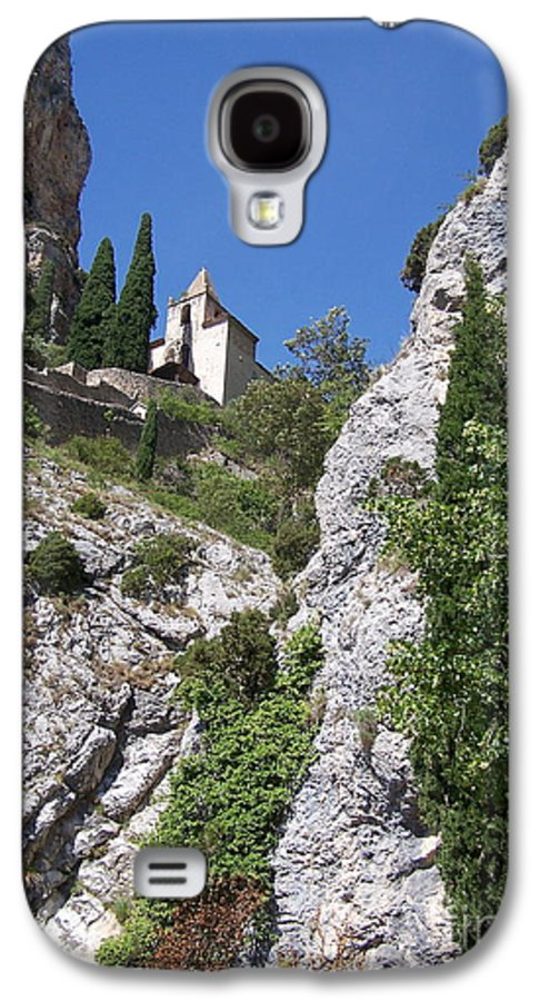 Church Galaxy S4 Case featuring the photograph Moustier St. Marie Church by Nadine Rippelmeyer