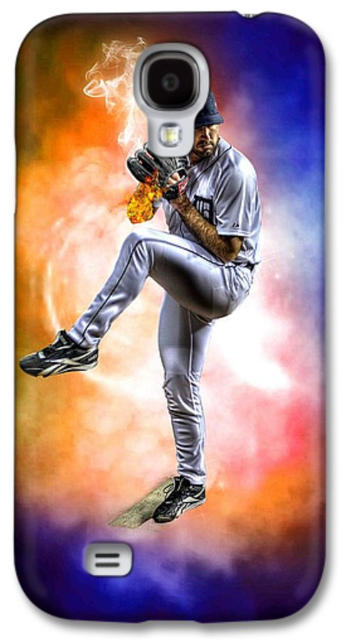 Cy Young Galaxy S4 Case featuring the photograph Mr. Justin Verlander by Nicholas Grunas