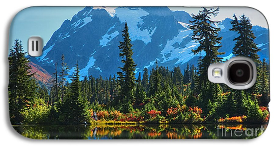 Mt. Shuksan Galaxy S4 Case featuring the photograph Mt. Shuksan by Idaho Scenic Images Linda Lantzy
