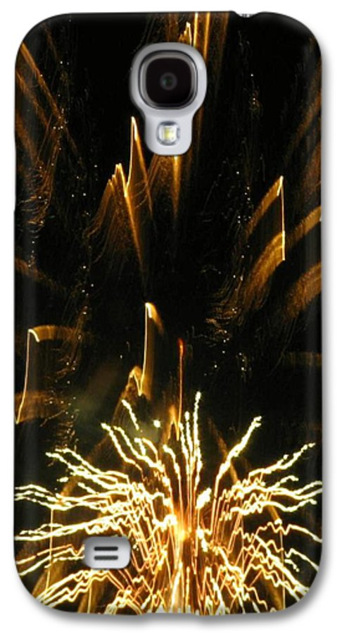 Fireworks Galaxy S4 Case featuring the photograph Music To My Eyes by Rhonda Barrett