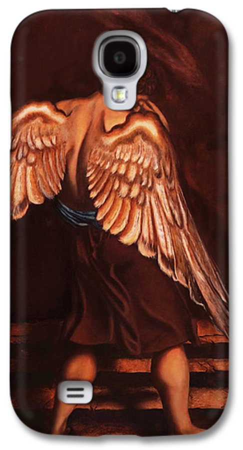 Giorgio Galaxy S4 Case featuring the painting My Soul Seeks For What My Heart Lost by Giorgio Tuscani