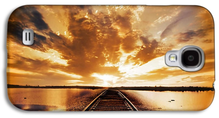 Water Galaxy S4 Case featuring the photograph My Way by Jacky Gerritsen