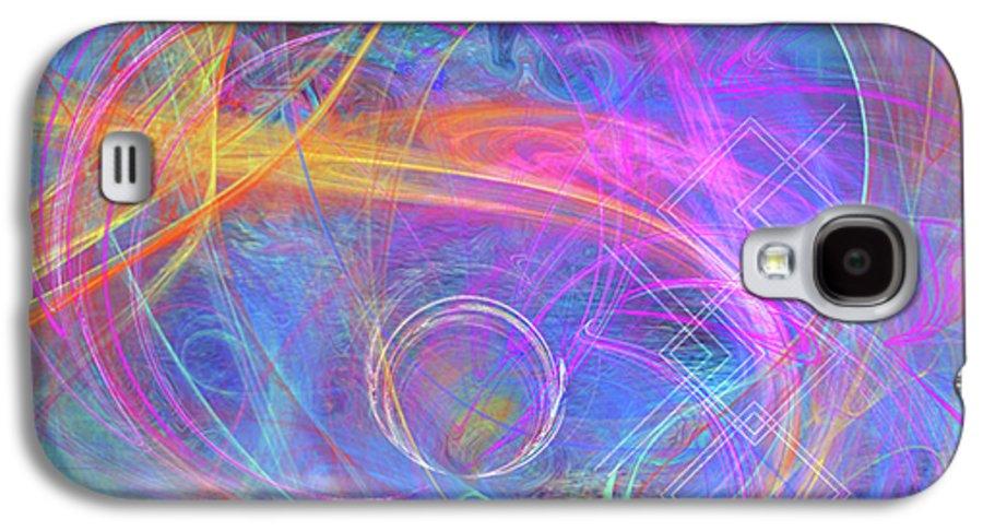 Mystic Beginning Galaxy S4 Case featuring the digital art Mystic Beginning by John Beck