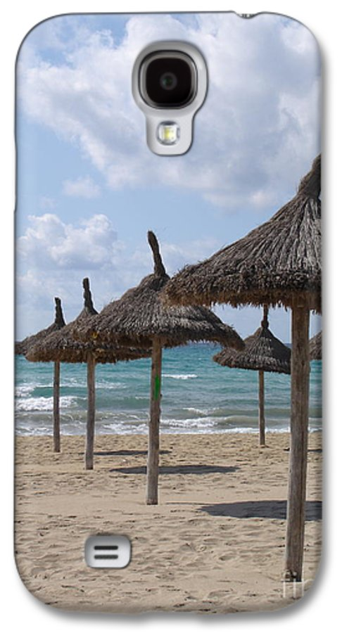 Beach Galaxy S4 Case featuring the photograph Natural Umbrella by Chad Natti