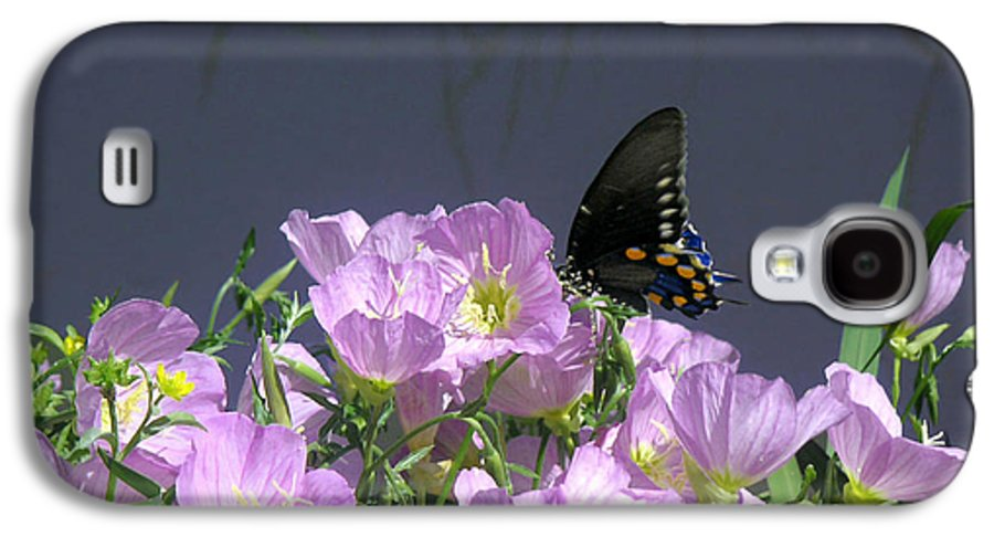 Nature Galaxy S4 Case featuring the photograph Nature In The Wild - Profiles By A Stream by Lucyna A M Green