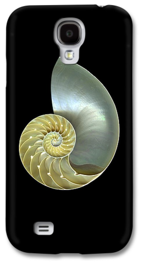Slanec Galaxy S4 Case featuring the photograph Nautilus Nr.1 by Christian Slanec