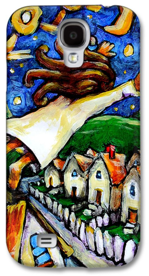 Children Galaxy S4 Case featuring the painting Night Fall by Chad Elliott