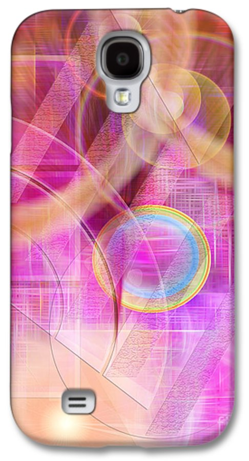 Northern Lights Galaxy S4 Case featuring the digital art Northern Lights by John Beck