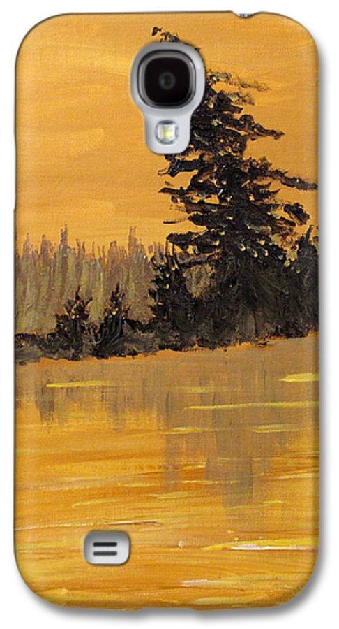 Northern Ontario Galaxy S4 Case featuring the painting Northern Ontario Three by Ian MacDonald