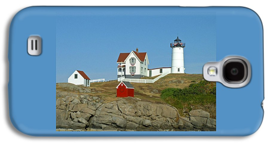 Nubble Galaxy S4 Case featuring the photograph Nubble Light by Margie Wildblood