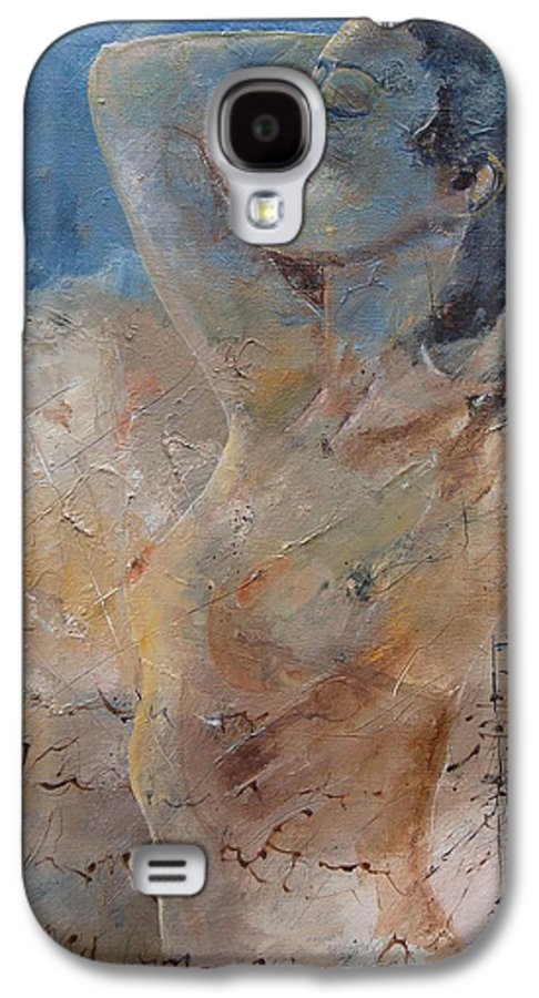 Nude Galaxy S4 Case featuring the painting Nude 0508 by Pol Ledent
