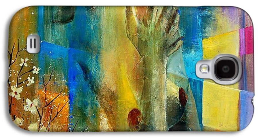Nude Galaxy S4 Case featuring the painting Nude 5609082 by Pol Ledent