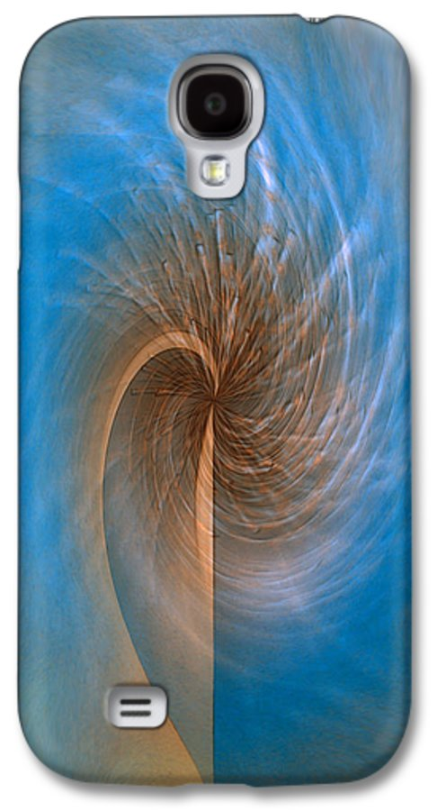 Ocean Breeze Art Galaxy S4 Case featuring the digital art Ocean Breeze by Linda Sannuti