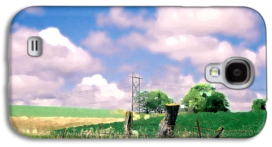 Landscape Galaxy S4 Case featuring the photograph Off The Grid by Steve Karol